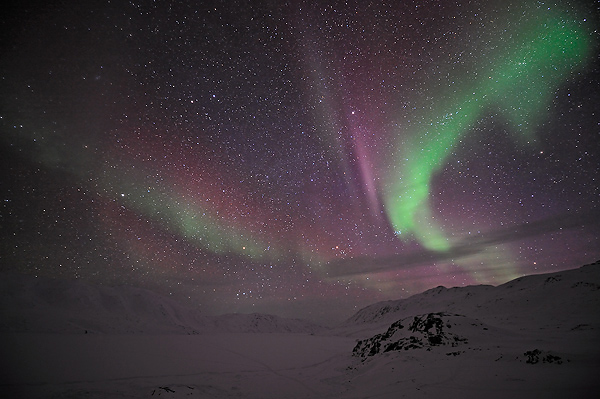 Lights in Greenland